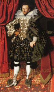 Mit schönen Beinen: Richard Sackville, Earl of Dorset 1613
